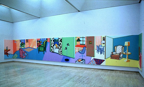 Howard Arkley Fabricated Rooms
